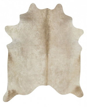 Exquisite Natural Cow Hide Champagne - Floorsome
