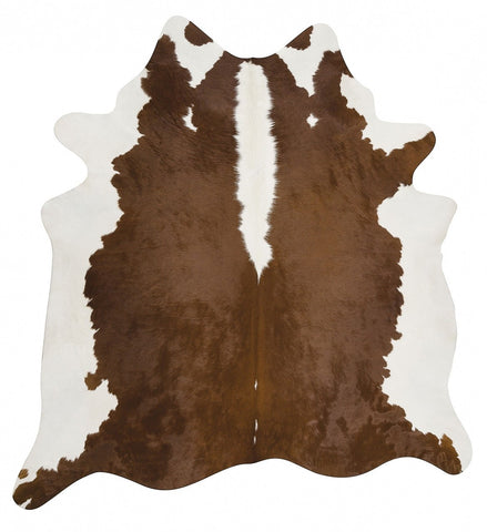 Exquisite Natural Cow Hide Hereford - Floorsome