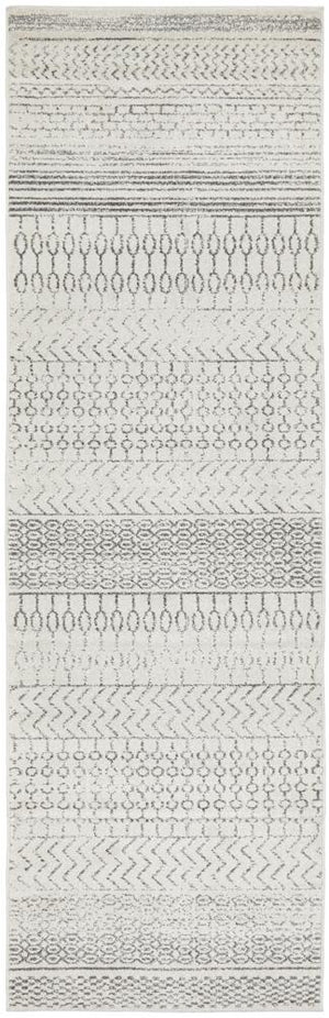 Chrome Harper Silver Runner Rug