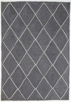 Artisan Grey Natural Diamond Rug