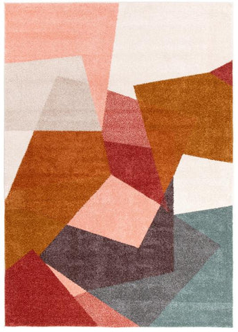 Dimensions 420 Blush Modern Rug - Floorsome