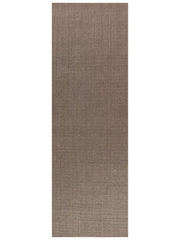 Natural Sisal Runner Rug Boucle Grey