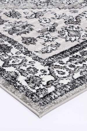 Anatolia Traditional Grey Black Rug