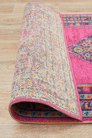 Eternal 910 Pink Runner Rug