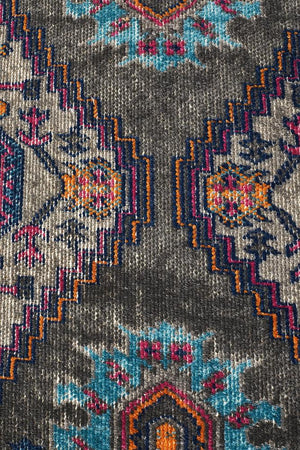 Eternal 914 Grey Runner Rug