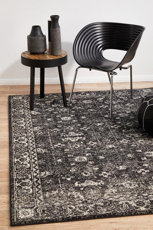 Estella Charcoal Transitional Rug