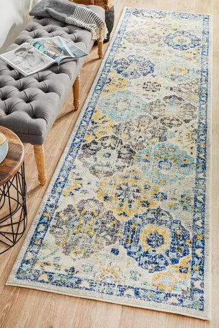 Poppy Multi Transitional Runner Rug