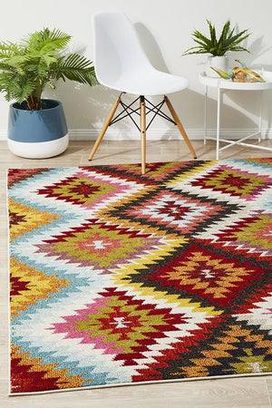 Aura Modern Multi Rug - Floorsome