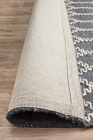 Hudson 805 Blue Recycled Rug