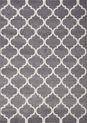 Canyon Grey Trellis Rug