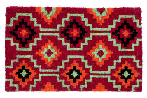 100% Coir Door Mat - Lhasa Orange 90x60cm - Floorsome