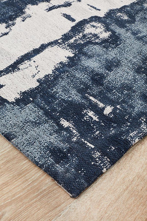 Magnolia 11 Denim Runner Rug