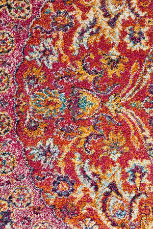 Museum 867 Multi Coloured Round Rug