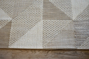 Pergola Cream Beige Indoor Outdoor Rug