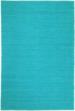 Natura Turquoise Wool Rug