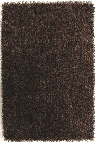 Metallic Thick, Thin Shag Rug Brown and Beige - Floorsome