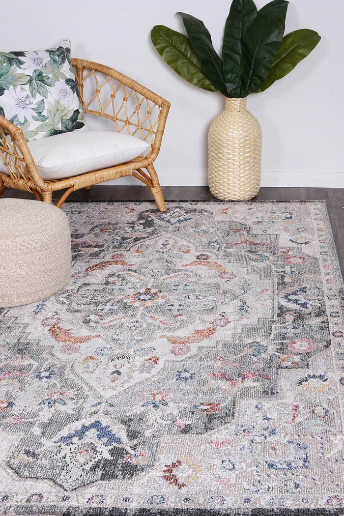 Alexander Transitional Grey Rug