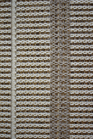 Alfresco Lines Cream Beige Indoor Outdoor Rug