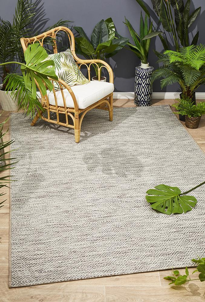 Courtyard Natural Indoor Outdoor Rug
