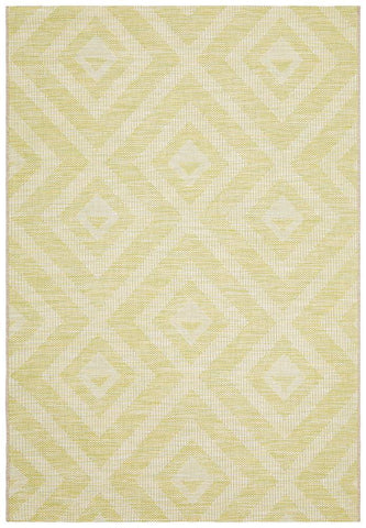 Courtyard 5504 Green Indoor Outdoor Rug