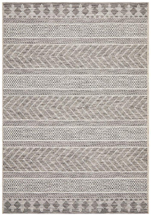 Courtyard 5505 Grey Indoor Outdoor Rug - Floorsome