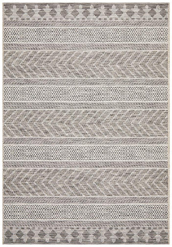 Courtyard 5505 Grey Indoor Outdoor Rug