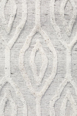 Winter Wish White Modern Rug