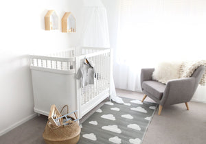 Little Portico's Cloud Grey Kids Mat