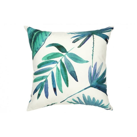 Botanica Blue Outdoor Cushion - Floorsome
