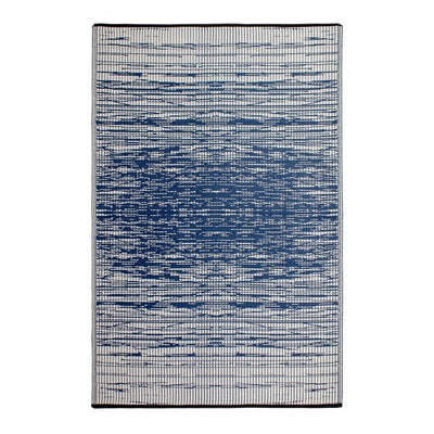 Outdoor Rug Recycled Plastic - Brooklyn Blue