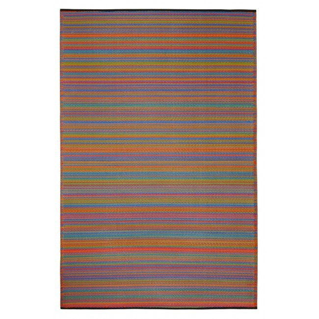 Great Recycled Plastic Outdoor Rug Multicolour ...