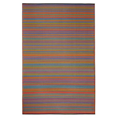 Outdoor Rug Recycled Plastic  - Cancun Multicolour