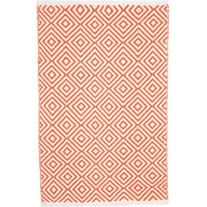 Indoor Recycled Cotton Rug - Kimberley Orange