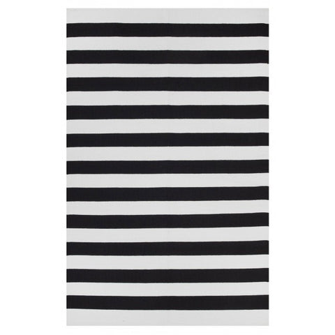 Indoor Recycled Cotton Rug - Nantucket Black