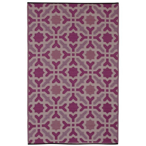 Outdoor Rug Recycled Plastic - Seville Purple