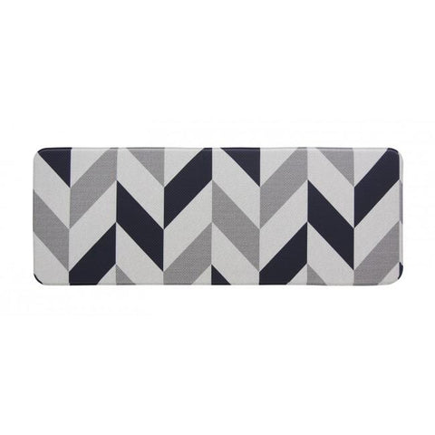 Kitchen Mat - Herringbone Navy