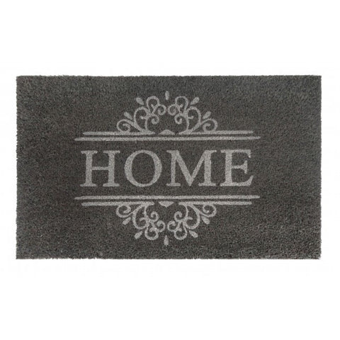 PVC Backed Coir Door Mat - Home 75x45cm - Floorsome