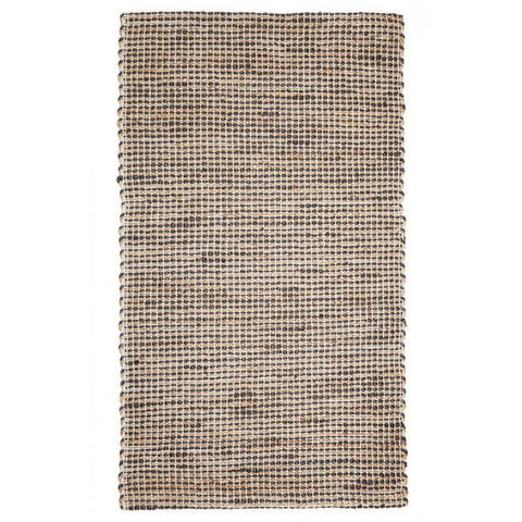 Jute Rug - Iris Deep Grey - Floorsome