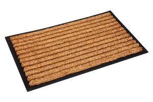 Stripes Rubber Bordered Coir Door Mat
