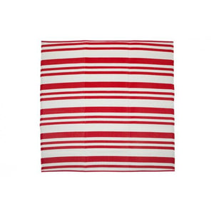 Outdoor Rug Recycled Plastic - Cherai Bright Red 180x180cm