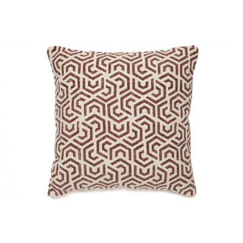 Ren Red and White Indoor Cushion