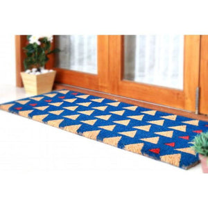 PVC Backed Coir Door Mat - Triad 120x45cm - Floorsome