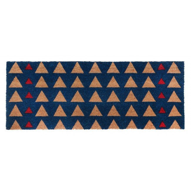 PVC Backed Coir Door Mat - Triad 120x45cm