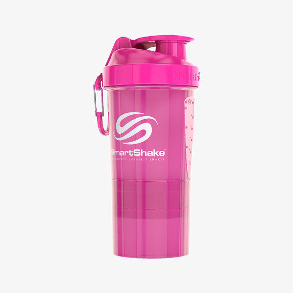 SmartShake Original2Go 600ml/20oz Neon Pink