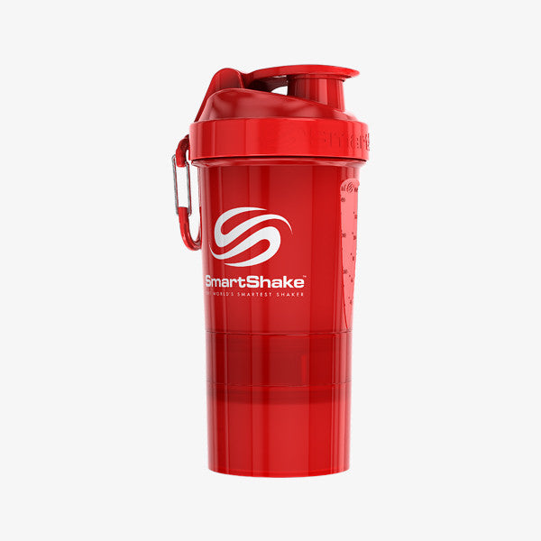 SmartShake Original2Go 600ml/20oz Neon Red