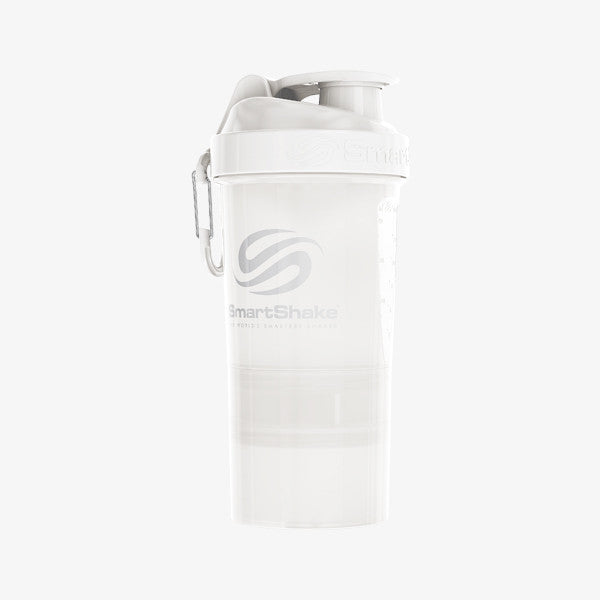 SmartShake Original2Go 600ml/20oz Pure White
