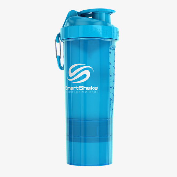 SmartShake Original2Go 800ml/27oz Neon Blue