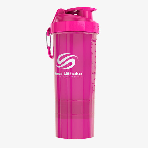SmartShake Original2Go 800ml/27oz Neon Pink