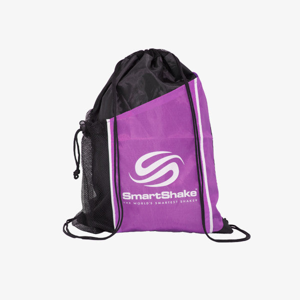 SmartShake String Bag Neon Purple