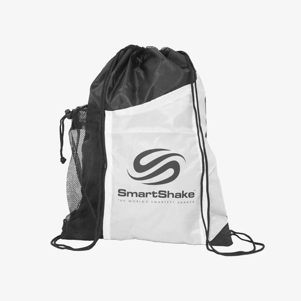 SmartShake String Bag Neon White